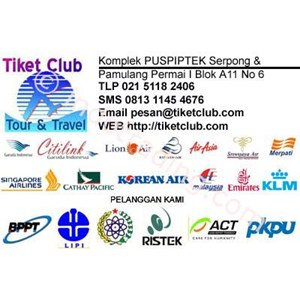 Tiket Pesawat Domestik & International By Tiket Club Tour And Travel