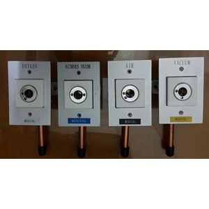 WALL OUTLET GAS MEDIS