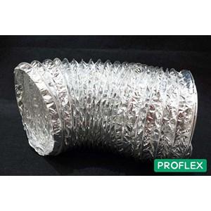 Proflex Flexible Ducting - Tanpa Insulasi