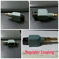 Regulator Gas Coupling