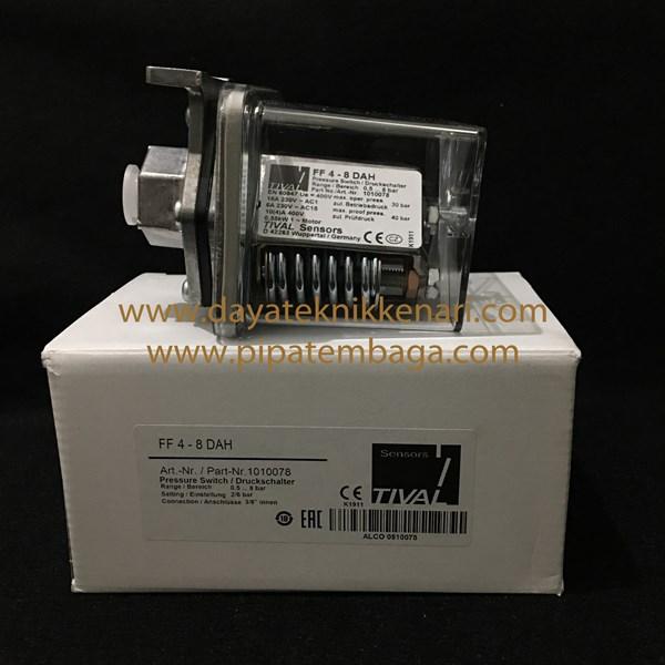 Pressure Switch Tival (Fanal) FF4-8 DAH