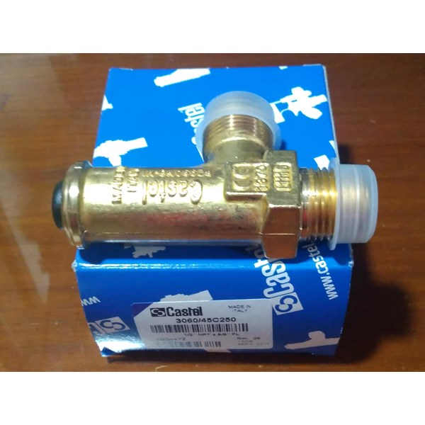 SAFETY VALVE CASTEL Type 3060