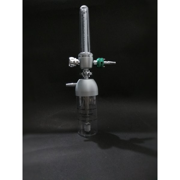Medical Flowmeter dan Humidifier for Wall Outlet (15lpm)