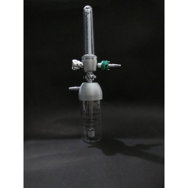Flowmeter dan Humidifier Medical untuk Wall Outlet (15lpm)