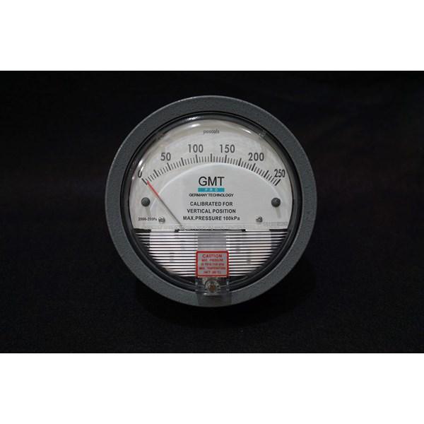 GMT Magnehelic Pressure Gauge (Alat Ukur Tekanan Udara)