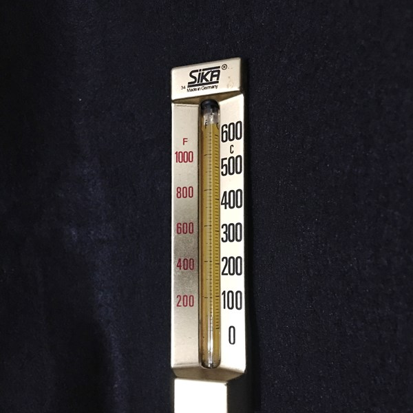 SIKA Thermometer Range 600 Celcius