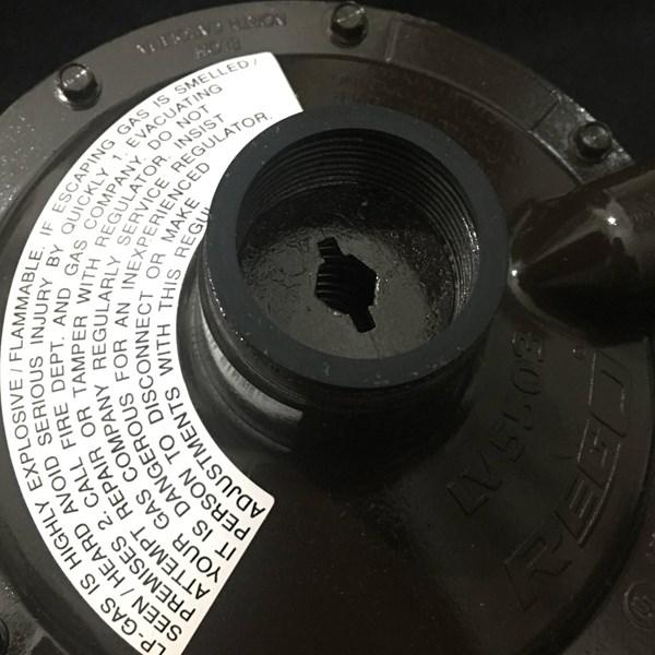 REGO - Regulator Gas LPG Low Pressure LV 5503 B8
