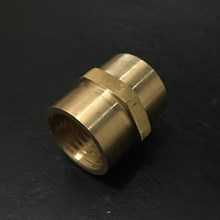 Brass Straight Sock Connector