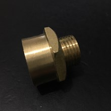Brass Female to Male Connector