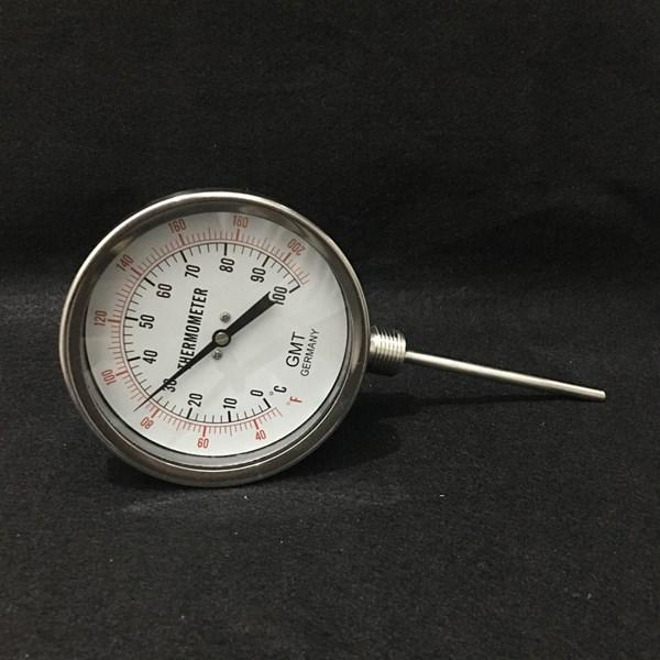 Temperature Gauge GMT Koneksi Bawah (Termometer Raket)
