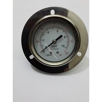 Gas Pressure Gauge Stainless