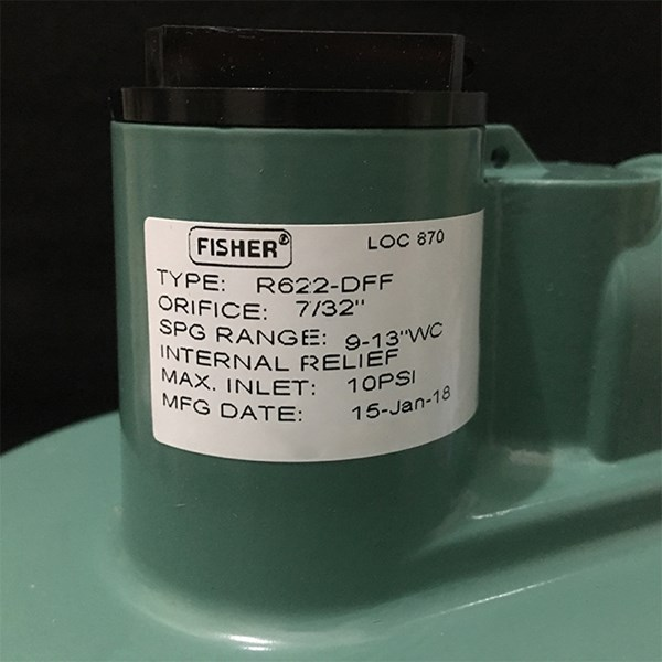 Fisher Second Stage Low Pressure - 622DFF