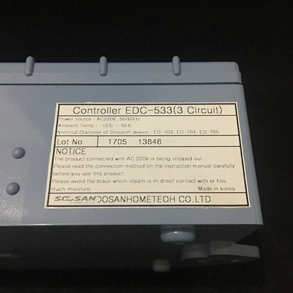 Panel Gas Alarm Hankook