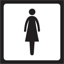 IMO Signs Ladies Toilet IMPA 332409