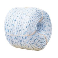Dia. 75mm Double Braided Hawsers Polypropylene Monofilament Mooring Rope 8 Strand IMPA 210361