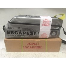70321 - LALIZAS Emergency Evacuation Breathing Device (EEBD) ESCAPE RESCUE-AIR L15 SOLAS Approved