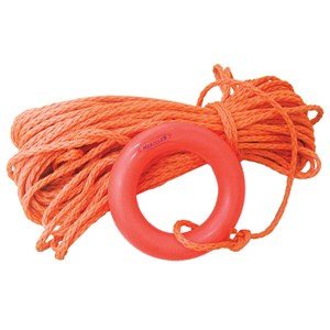 Dari LALIZAS Rescue Quoits Mooring Ring with 30m Rope 0