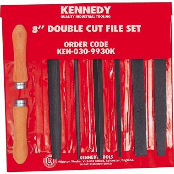 Kikir Engineers Double Cut File Set