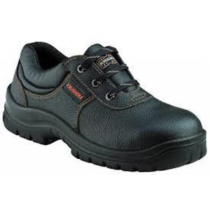 Sepatu Safety Laceup Shoes with Padded Topline