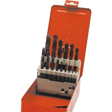 15pcs HSS GroundFluteJobberDrill