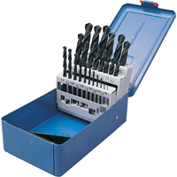 Senator.1-13mm x 0.5mm HSS Straight Shank Roll Forged Drill Set 1