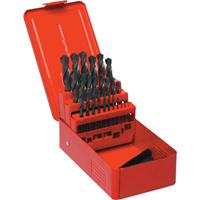 Sherwood.SET OF 25 HSS DRILLS 1-13.00mm x 0.5mm 1