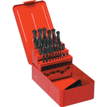 Sherwood.SET OF 25 HSS DRILLS 1-13.00mm x 0.5mm