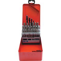 Sherwood.M3-M12 / 2.50-10.20mm TAP AND JOBBER / TWIST DRILL SET 28-PIECE