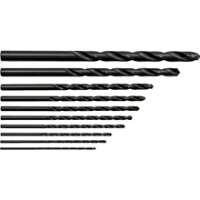 Sherwood.SET OF 10 HSS LONG SERIES DRILLS 2-10.00mm