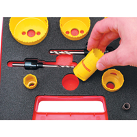 Distributor Kennedy.PROFESSIONAL HOLESAW KIT IN PLASTIC CASE 3