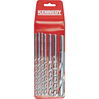 Kennedy.No.10-26 7PCE MASONRY DRILL SET