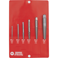 Kennedy.6PCE SCREW EXTRACTOR SET