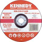 Kennedy.125x3x22.23mm A24RBF FLAT CUTTING DISC 1