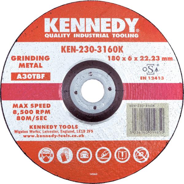 Kennedy.125x3x22.23mm A24RBF FLAT CUTTING DISC