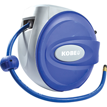 Kobe Red Line.AIR HOSE REEL 10mm x 30M - RUBBER RETRACTABLE