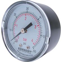 Kennedy.50mm DIA.x 0-12 BAR PRESSURE GAUGE