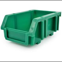 Matlock.MTL0 PLASTIC STORAGE BIN GREEN