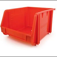 Matlock.MTL3 PLASTIC STORAGE BIN RED