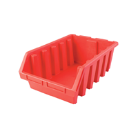 Matlock.MTL5 HD PLASTIC STORAGE BIN RED