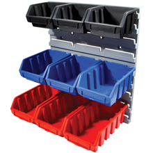Matlock.MTL1 HD 9 PIECE BIN/RACK SET
