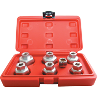 Kennedy.OIL FILTER CAP WRENCH SET 7-PCE