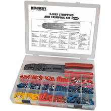 Kennedy.ASSORTED TERMINALS & CRIMPING TOOL 361-PCE