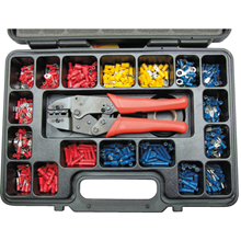 Kennedy.HEAVY DUTY RATCHET CRIMPING TOOLKIT 552-PCE