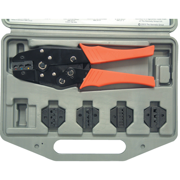 Kennedy.CRIMPING TOOL KIT - TERMI INALS/CONNECTORS/FERRULES