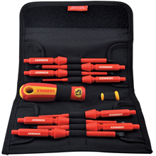 Kennedy.INSULATED INTERCHANGEABLE SCREWDRIVER SET 10-PCE
