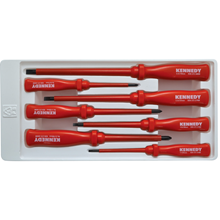 Kennedy.INSULATED VDE SCREWDRIVER SET 7-PCE