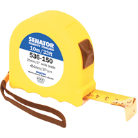 Senator.10M/33' HI-VIS LOCKING TAPE - YELLOW CASE
