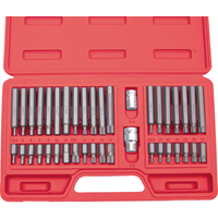Kennedy.40-PCE TORX. HEX & SPLINE BIT SET