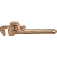 Kennedy.350mm SPARK RESISTANT H/DUTY PIPE WRENCH Be-Cu
