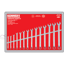 Kennedy-Pro.6-19mm PROFESSIONAL COMBINATION SPANNER SET 14PC
